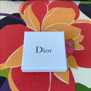 Dior Bracelet Box and Jewelry Pouch